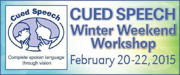CUED SPEECH WORKSHOP