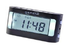 Serene Innovations Travel Alarm Clock Image